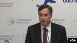 Arhiva - Predsednik odbora za spoljne poslove Evropskog parlamenta Dejvid Mekalister.