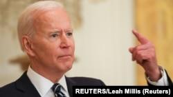 Džozef Bajden, predsednik Sjedinjenih Država (REUTERS/Leah Millis)
