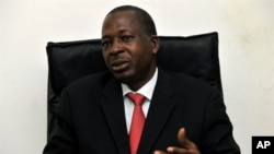 The new president of the electoral committee in Guinea, Malian General Siaka Toumany Sangare, 20 Oct 2010