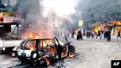حالیہ مہینوں میں شہر میں سیاسی کشیدگی اور جلاؤ گھیراؤ کے واقعات میں شدت آئی ہے