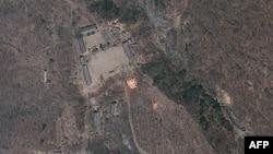 Фотография ядерного полигона КНДР со спутника