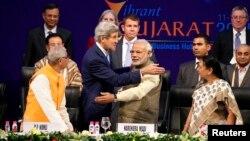 Госсекретарь США Джон Керри и премьер-министр Индии Нарендра Моди