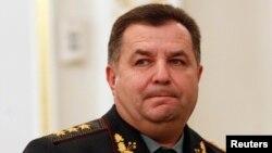 Bộ trưởng Quốc phòng Ukraine Stepan Poltorak.