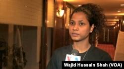 پاکستانی خواتین فٹبال ٹیم کی کپتان ہاجرہ خان