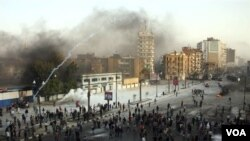 Bentrokan antara demonstran dan pasukan keamanan di daerah Suez, Mesir belum berpengaruh terhadap kelancaran jalur perdangan dunia.