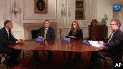 奥巴马总统9月28日在一个网络圆桌讨论会上发言