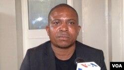 Heinor Canda de departamento de saúde pública e controlo de epidemias em Malanje