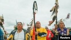 """Demonstracije protiv prolaska naftovoda blizu rezervata """"Uspravna stena"""""""