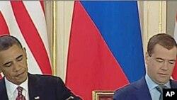 奧巴馬與梅德韋傑夫早已簽署削減核武條約。