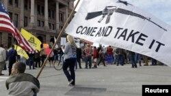 Skup pristalice nošena oružja u Teksasu