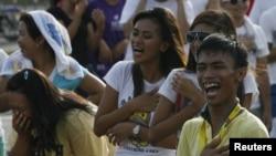 Филлипинцы держат пальму первенства по эмоциональности