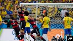 'Yan wasan Brazil da Jamus