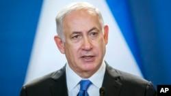 Benjamin Netanyahu, Umushikiranganji wa mbere wa Israyeli.