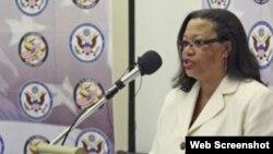 Susan Page, embajadora de Estados Unidos en Sudán del Sur.