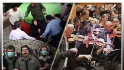 تور دولتی ارکستر سمفونيک تهران در اروپا صحنه اعتراض به سرکوبی ها بود