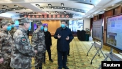 Chủ tịch TQ Tập Cận Bình đến thăm thành phố Vũ Hán, tỉnh Hồ Bắc, tâm dịch Covid-19 của TQ