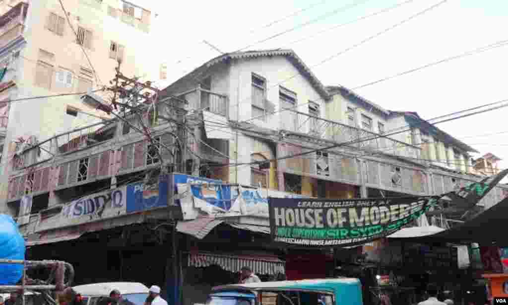 سندھ کی بمبئی شہر سے جڑی پرانی یادیں اب بھی کراچی کے بمبئی بازار سے نمایاں ہیں