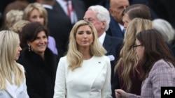 2017年1月20日伊萬卡川普在川普總統就職典禮上