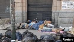 La pobreza e indigencia han aumentado en Argentina. Ese es uno de los motivos de la protesta de los sindicatos.