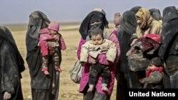 Badan Pengungsi PBB (UNHCR) semakin khawatir akan keselamatan warga sipil yang terperangkap di daerah-daerah yang dikuasai ISIS di kantong Hajin, kawasan Deir ez-Zor, timur laut Suriah. (Foto: dok).