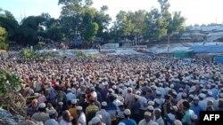 ကုတုပေလာင္ ဒုကၡသည္စခန္းတြင္းမွာ အသတ္ခံရသူ ႐ိုဟင္ဂ်ာအေရးေခါင္းေဆာင္ Mohibullah ရဲ႕စ်ာပန။ (၀၉ ၊ ၃၀၊ ၂၀၂၁)