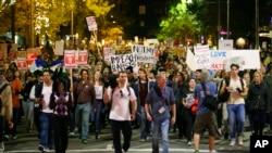 Protestas en Washington D.C.