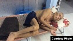 Theo Hội Cựu Tù nhân Lương tâm, ông Nguyễn Tuấn Nam đang trong tình trạng sức khỏe cực kỳ suy yếu, không thể tự đi đứng.