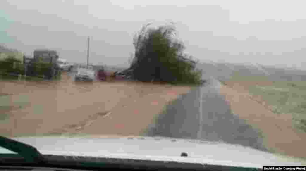 Impacto furacão Fred na ilha da Boavista, Cabo Verde
