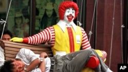 La justicia salvadoreña decidió embargar 57 distintivos comerciales de McDonald's, incluyendo el payaso Ronald.