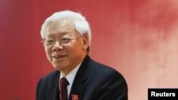 越南共產黨總書記阮富仲。