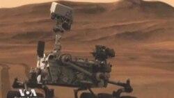 Марсоход NASA на Марсе