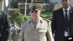 Le général Ahmed Gaïd Salah, homme fort du pays depuis la démission de M. Bouteflika.