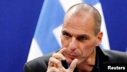 希臘財政部長瓦魯法基斯(資料圖片)