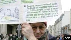 Protesta në Francë kundër reformës në pension