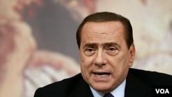 Perdana Menteri Italia Silvio Berlusconi