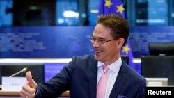 Vice President of European Union Jyrki Katainen.