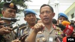 Kapolri Jenderal Tito Karnavian di kompleks Istana Kepresidenan, Jakarta (Foto: dok).