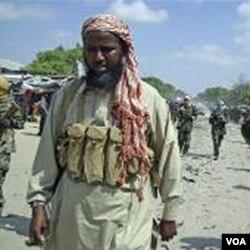 Pemimpin kelompok militan Al-Shabab di Somalia, Sheikh Muktar Robow (foto: dok).