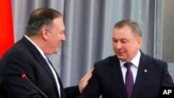 Майк Помпео и Владимир Макей