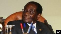 Zimbabwe President Robert Mugabe (file photo)