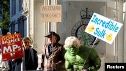 برطانیہ کے یورپی یونین سے انخلا کا معاملہ تین سال سے زیر التوا ہے۔