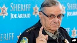 El alguacil apoyó al presidente electo Donald Trump y participó con un discurso en la Convención Nacional Republicana.