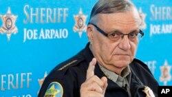 Joe Arpaio, alguacil de Maricopa, Arizona.