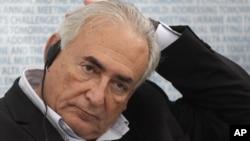 Cựu Tổng Giám đốc Quỹ Tiền tệ Quốc tế Dominique Strauss-Kahn.