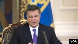 ປະທານາທິບໍດີຢູເຄຣນ ທ່ານ Viktor Yanukovych