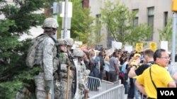 ممنوع قرار دادن برخی از تجهیزات برای پولیس امریکا
