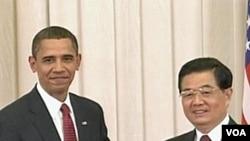 Barack Obama i Hu Jintao prilikom jednog od ranijih susreta