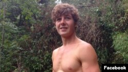 Ảnh Aiden Webb đăng trên trang facebook cá nhân của cô Lisa Shaw Webb cùng lời cầu khẩn sự giúp đỡ của mọi người để tìm kiếm cháu trai mình. (Ảnh: Facebook).