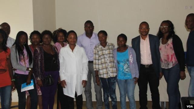 Salvam vidas . Doadores de sangue do Namibe