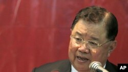Thailand General Yutthasak Sasiprapha (file photo).